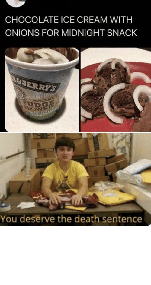 Chocolate: Chocolate ice cream with what now by tractornucleareactor MORE MEMES