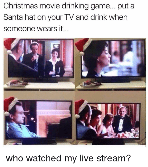 funny hats and christmas movies christmas movie drinking game put - Best Funny Christmas Movies