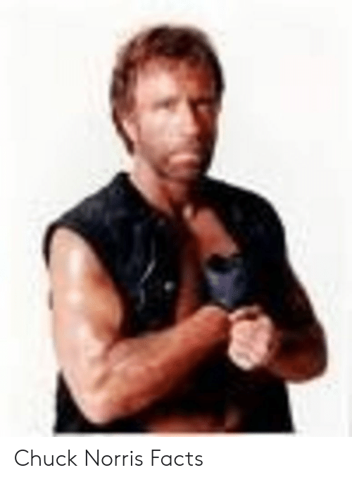 Norris Facts: Chuck Norris Facts