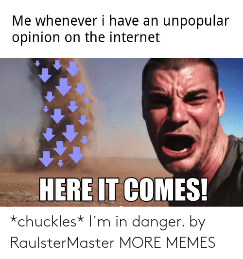chuckles: *chuckles* I´m in danger. by RaulsterMaster MORE MEMES