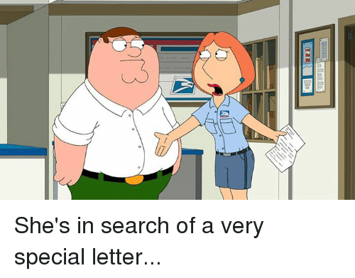 Cic: CIC She's in search of a very special letter...
