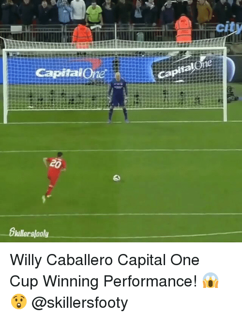 capitalone: cit  city  CapitalOne  0  killerslooly Willy Caballero Capital One Cup Winning Performance! 😱😲 @skillersfooty