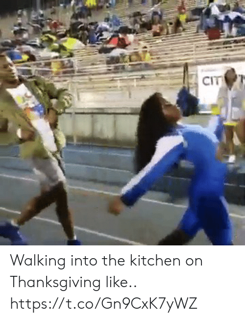 kitchen: CIT Walking into the kitchen on Thanksgiving like.. https://t.co/Gn9CxK7yWZ