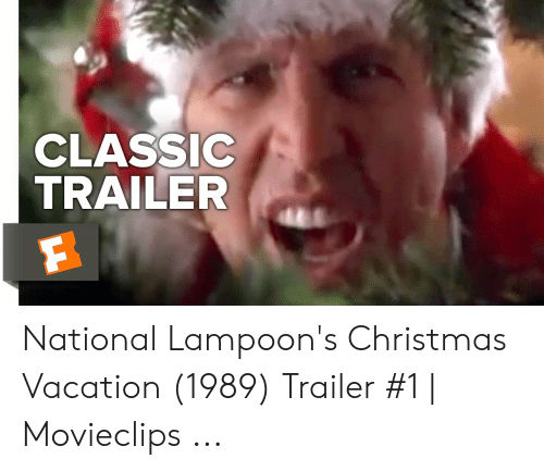 Classic Trailer National Lampoons Christmas Vacation 1989