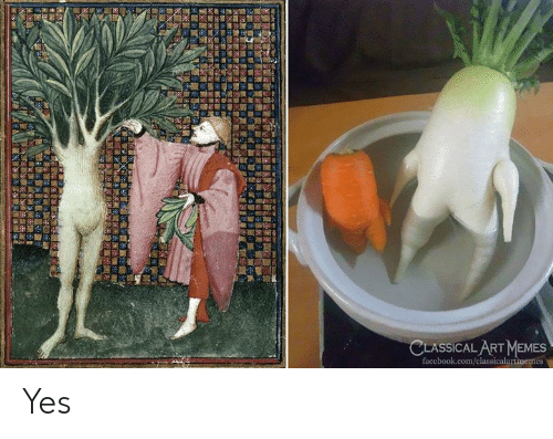 Facebook, Memes, and facebook.com: CLASSICAL ART MEMES  facebook.com/classicalartimemes Yes