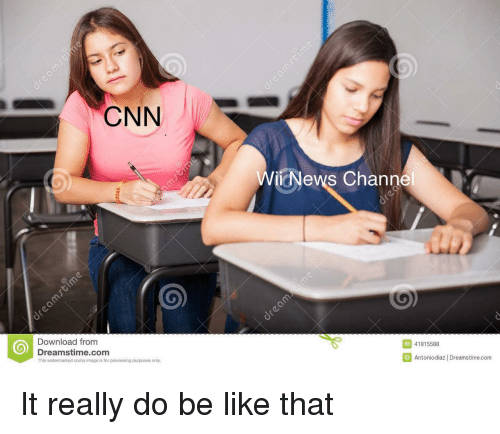 Be Like, cnn.com, and Image: CNN  ienews Channe  Download from  Dreamstime.com  This watermarked comp image is for previewing purposes only  ID 41815588  Antoniodiaz | Dreamstime.com It really do be like that