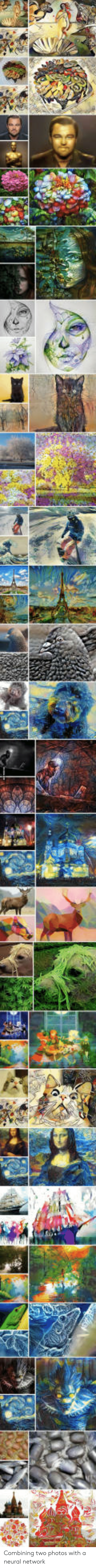 Neural: Combining two photos with a neural network