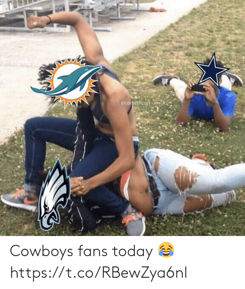 Dallas Cowboys: @comedicnfl Cowboys fans today 😂 https://t.co/RBewZya6nl