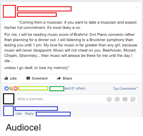 How to deal with dating a musician