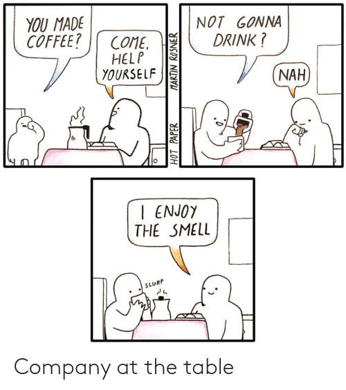 company: Company at the table