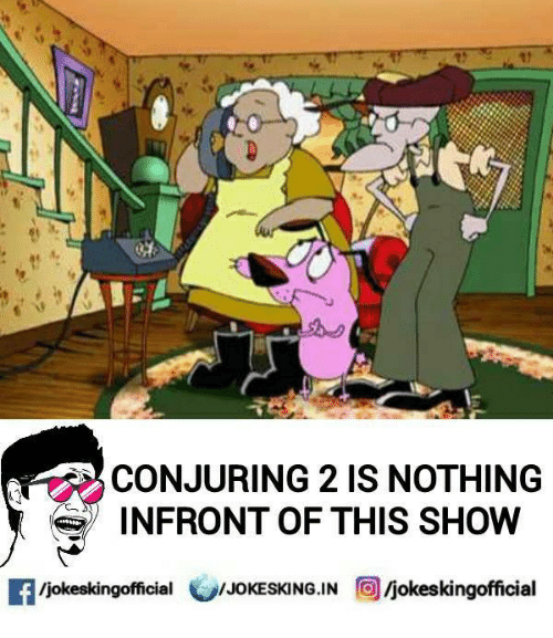 Conjuring 2: CONJURING 2 IS NOTHING  INFRONT OF THIS SHOW  Ijokeskingofficial  /JOKESKING.IN  O Ijokeskingofficial