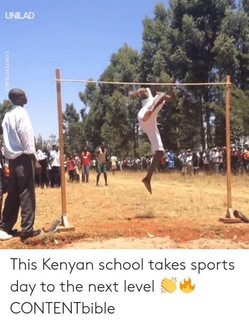 Kenyan: CONTENTBIB This Kenyan school takes sports day to the next level 👏🔥  CONTENTbible