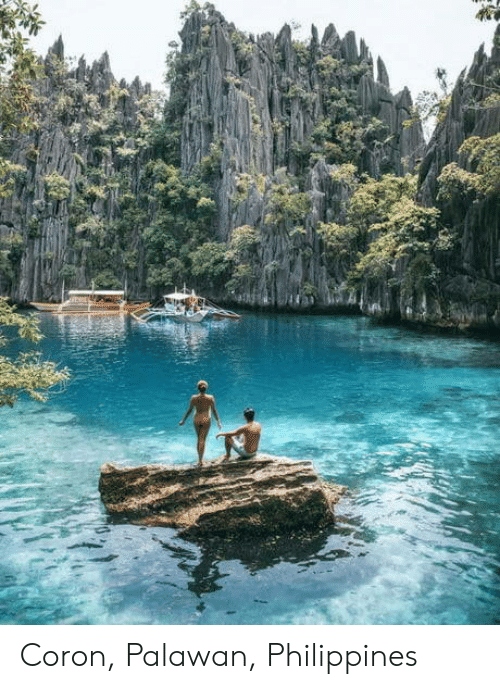 Philippines and Coronitis: Coron, Palawan, Philippines