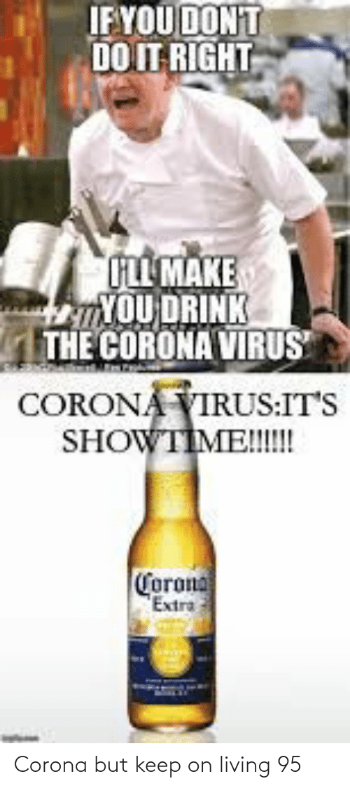 Living: Corona but keep on living 95