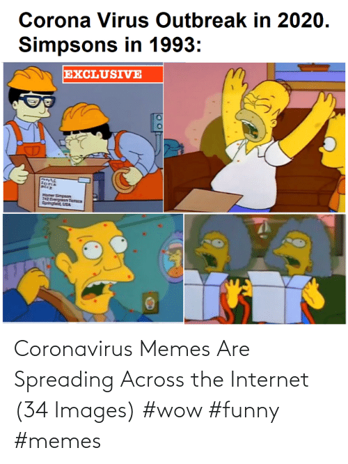 Images: Coronavirus Memes Are Spreading Across the Internet (34 Images) #wow #funny #memes