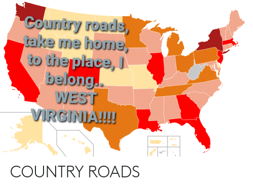 Roads: COUNTRY ROADS