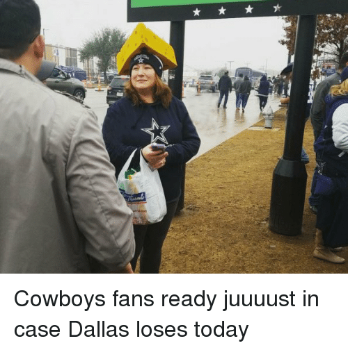 Football, Nfl, and Sports: Cowboys fans ready juuuust in case Dallas loses today