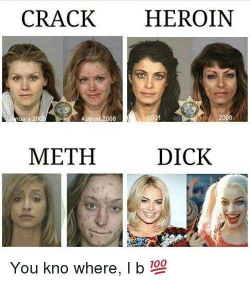 why meth makes you ugly