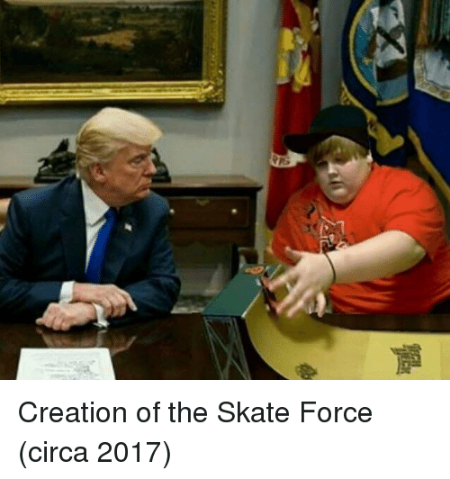 Skate, Creation, and Force: Creation of the Skate Force (circa 2017)