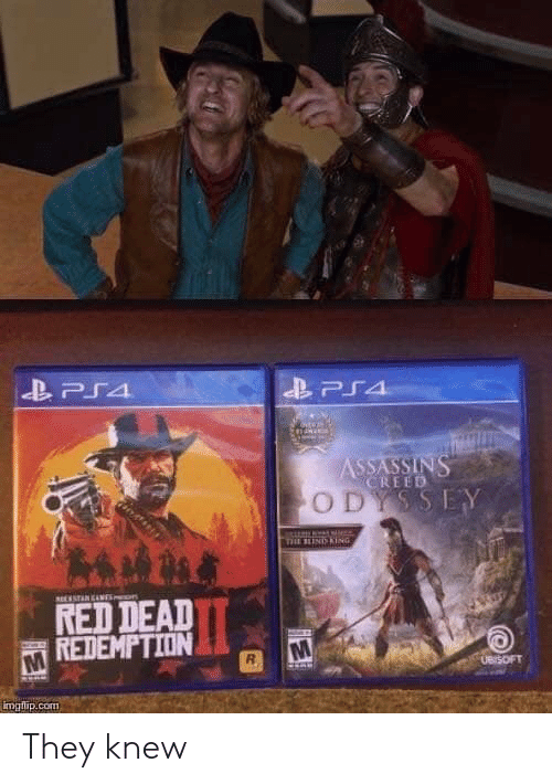 Creed, Red Dead Redemption, and Red Dead: CREED  O D  RED DEAD  REDEMPTION  UB SOFT  imglip.com They knew