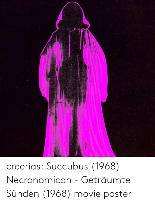 Movie: creerias:  Succubus (1968)  Necronomicon - Geträumte Sünden (1968) movie poster