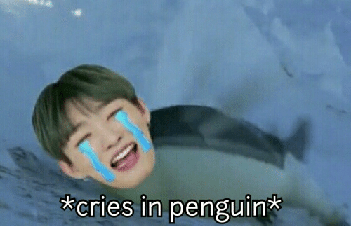 Penguin, Cries In, and Cries: cries in penguin