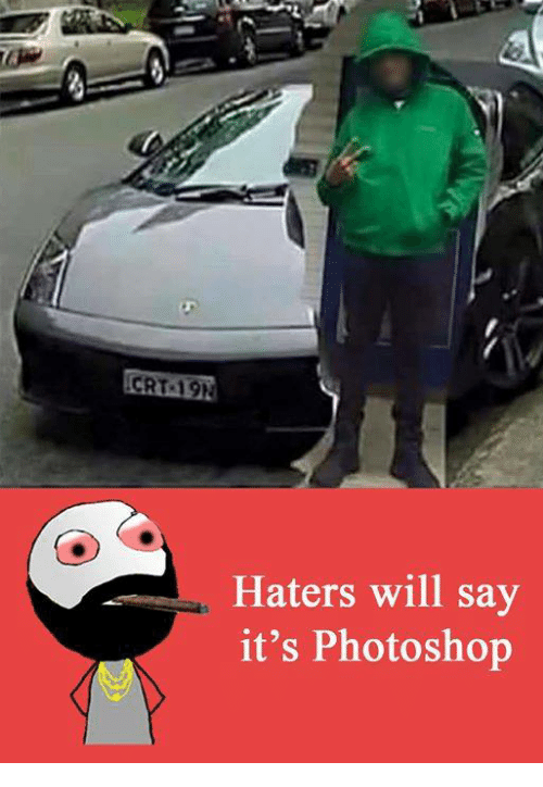 Haterate: CRT 19h  Haters will say  it's Photoshop