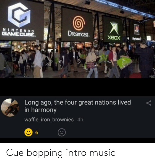 Music: Cue bopping intro music