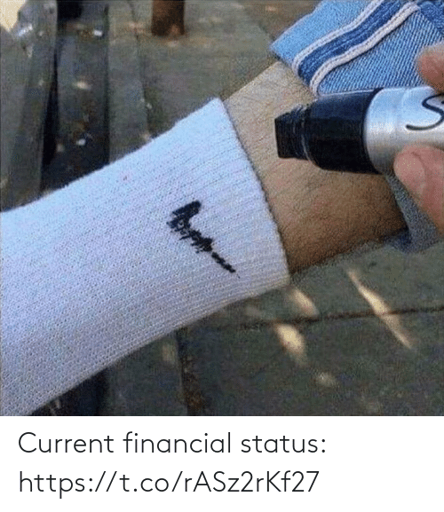 Status: Current financial status: https://t.co/rASz2rKf27