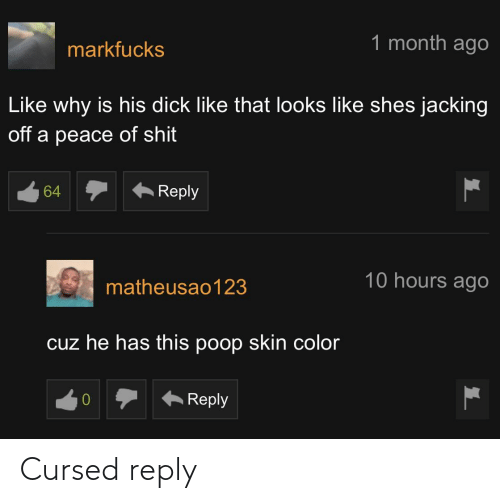 reply: Cursed reply