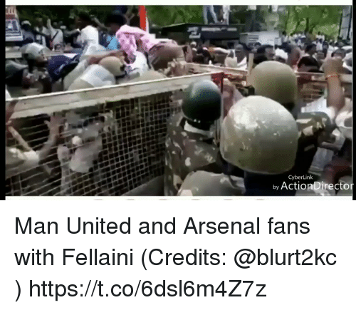 Arsenal, Memes, and United: CyberLink  by ActionDirecto Man United and Arsenal fans with Fellaini (Credits: @blurt2kc )  https://t.co/6dsl6m4Z7z