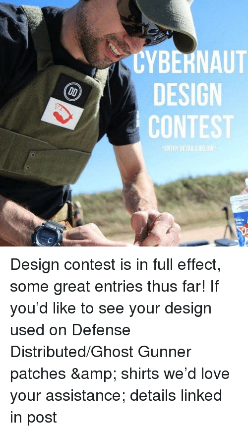Love, Ghost, and Design: CYBERNAUT  DESIGN  CONTEST  ENTRY DETAILS BEL