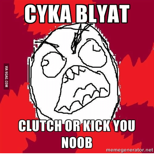 25 best memes about cyka blyat russian text cyka blyat