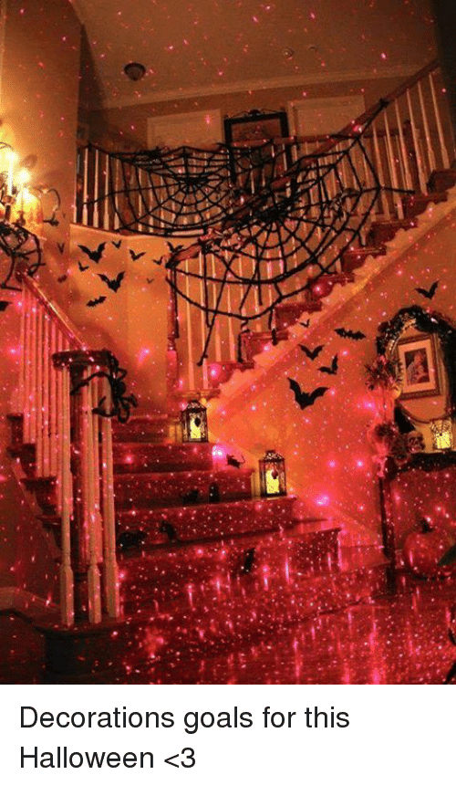 halloween 3: d'A  レ , Decorations goals for this Halloween <3