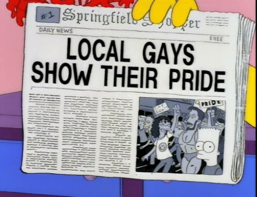 pride: DAILY NEWS  FREE  LOCAL GAYS  SHOW THEIR PRIDE  PRIDE