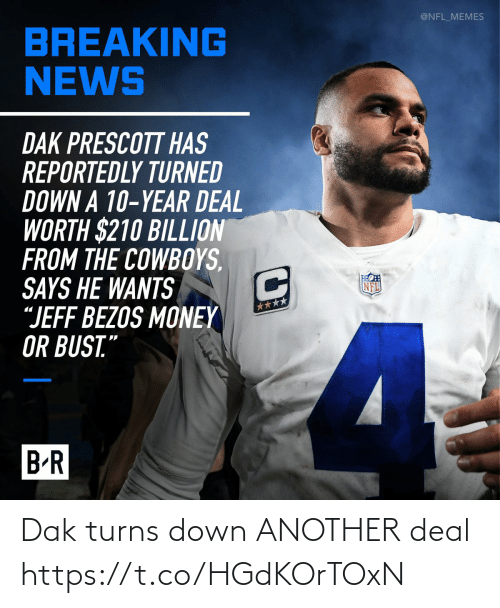 sports: Dak turns down ANOTHER deal https://t.co/HGdKOrTOxN