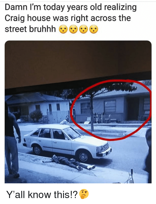 Bruhhh: Damn I'm today years old realizing  Craig house was right across the  street bruhhh Y'all know this!?🤔