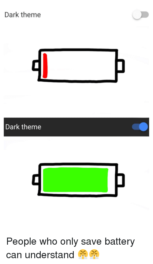 Dark Theme Dark Theme | Dank Meme on ballmemes com
