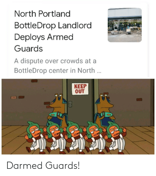 Guards: Darmed Guards!