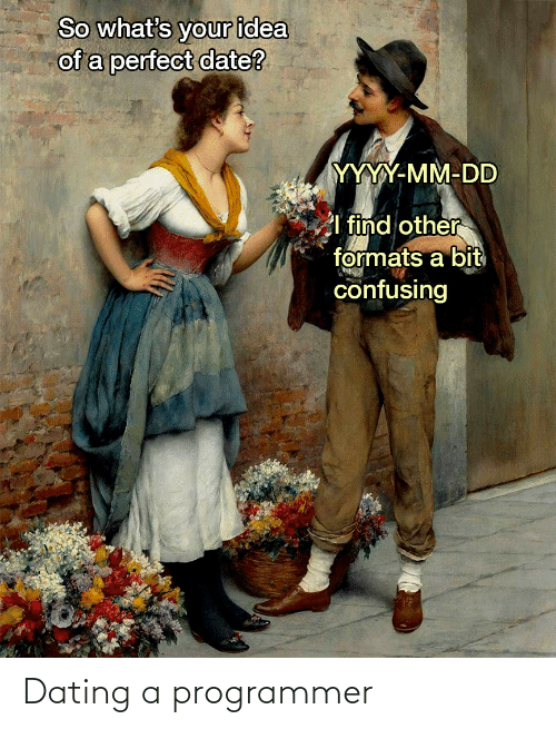Dating: Dating a programmer