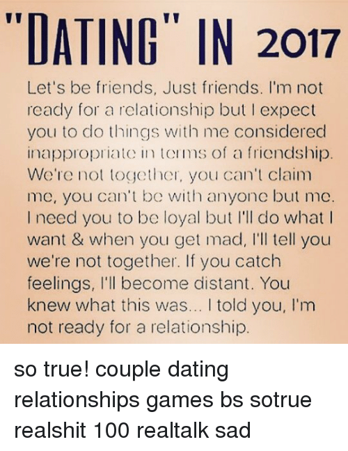 dating your friend expectation If not, it's fair to hold similar expectations for your romantic partner take the time to find a romantic partner who truly is your best friend.