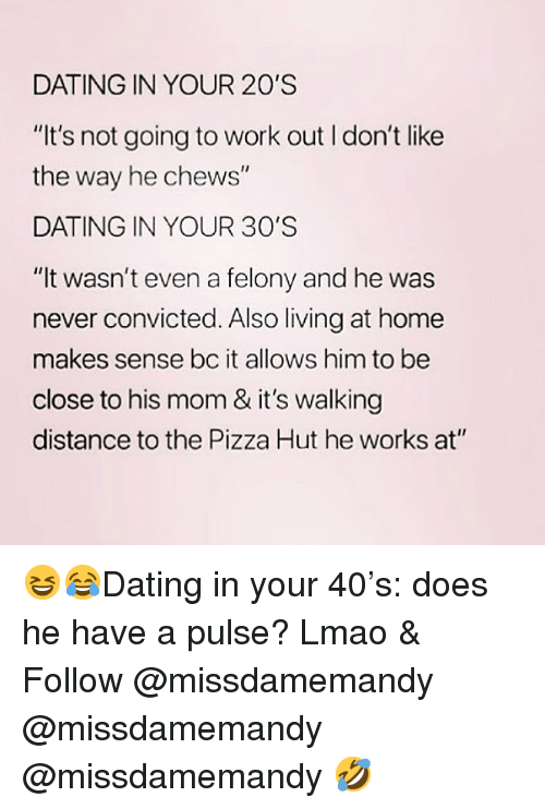 Dating never works out