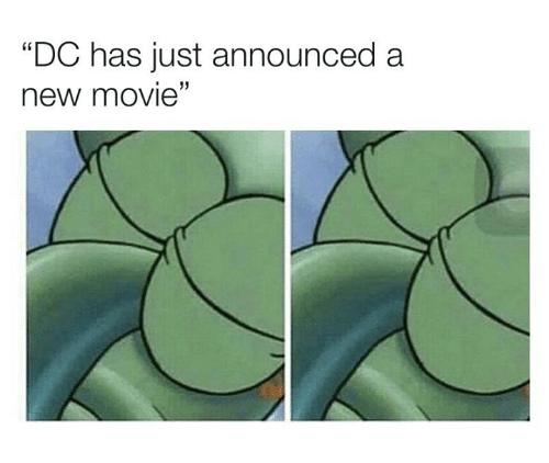 "Movie, New, and Just: ""DC has just announced a  new movie  13"