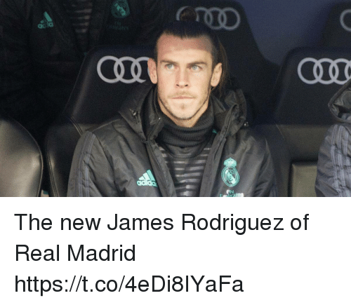 Memes, Real Madrid, and James Rodriguez: de  CCLO  COLL The new James Rodriguez of Real Madrid https://t.co/4eDi8IYaFa
