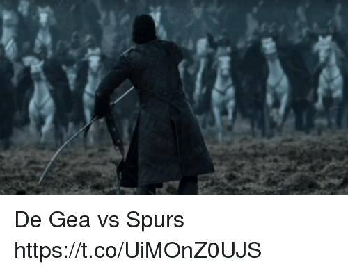 Soccer, Spurs, and De Gea: De Gea vs Spurs https://t.co/UiMOnZ0UJS