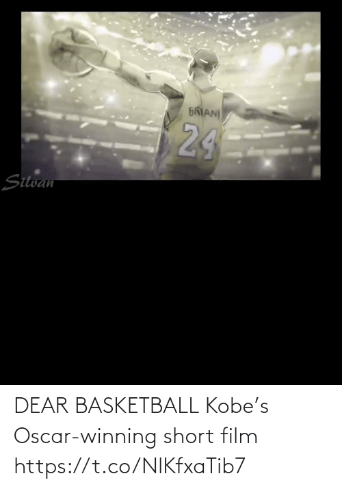 Film: DEAR BASKETBALL Kobe's Oscar-winning short film    https://t.co/NlKfxaTib7