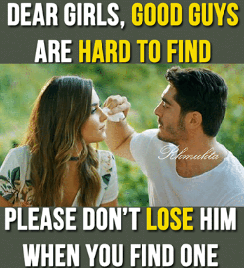 good girls are hard to find