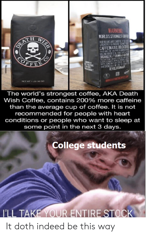 🅱️ 25 Best Memes About Caffeinated