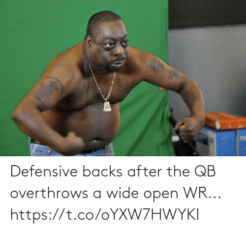 Defensive: Defensive backs after the QB overthrows a wide open WR... https://t.co/oYXW7HWYKl