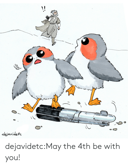 Tumblr, Blog, and May the 4th: dejavidetc dejavidetc:May the 4th be with you!